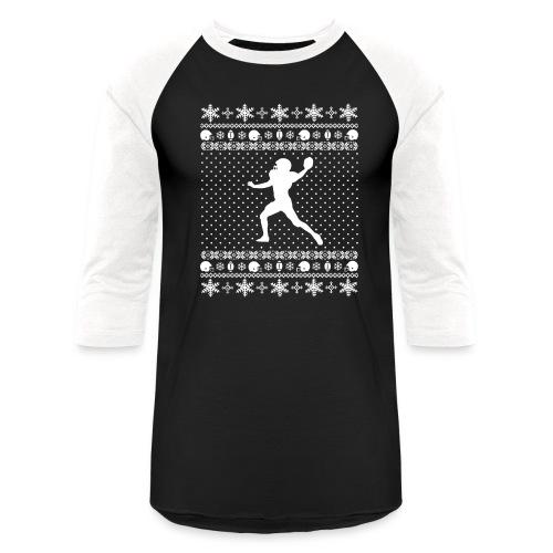 Ugly Football Xmas Sweater - Baseball T-Shirt