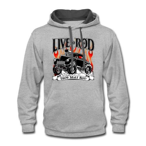 41 Willys Gasser hoodie - Contrast Hoodie