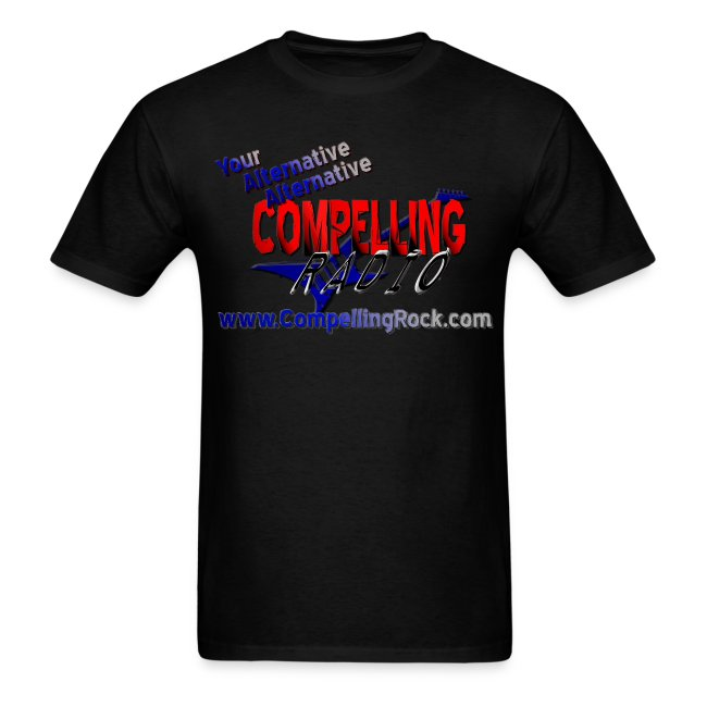 Compelling Radio Tee Front Logo