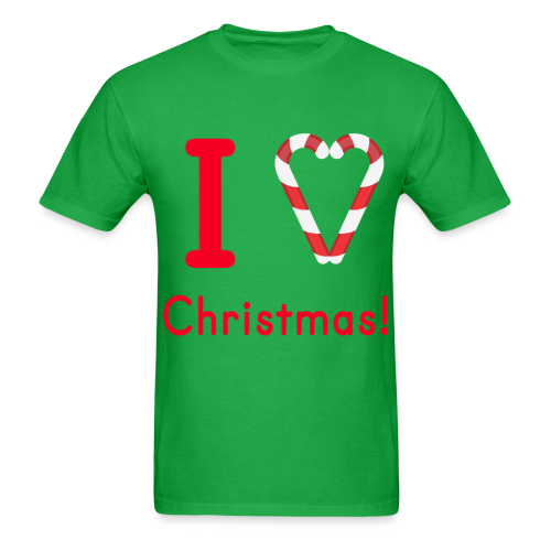 I Love Christmas Tee - Men's - Men's T-Shirt