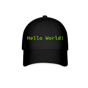 Hello World Hat - Baseball Cap