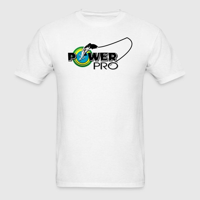 POWER PRO FISHING LINE - Men's T-Shirt