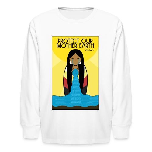 mother earth  - Kids' Long Sleeve T-Shirt