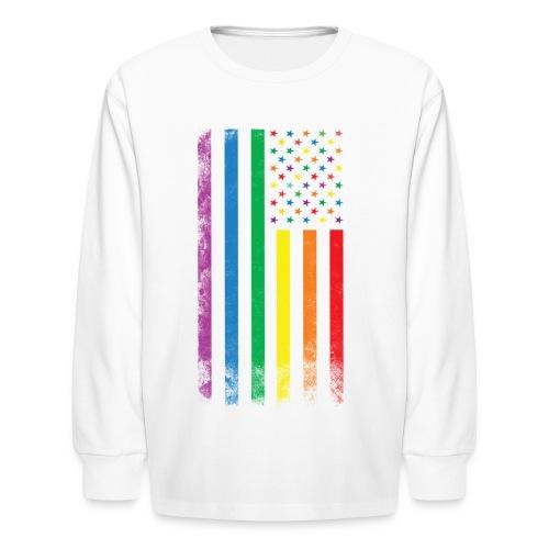 colorful flag - Kids' Long Sleeve T-Shirt