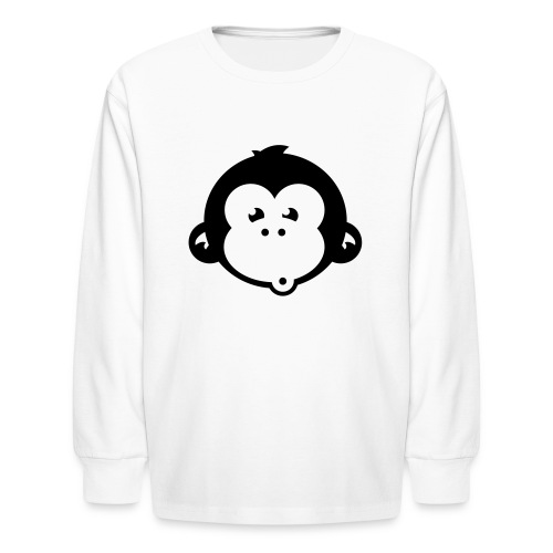 monkey who - Kids' Long Sleeve T-Shirt