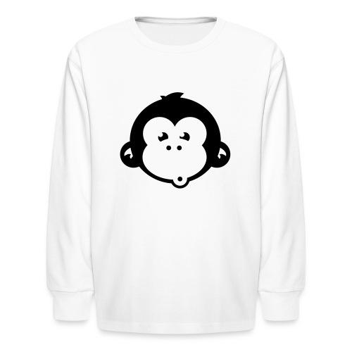 monkey who - Kids' Long Sleeve T-Shirt