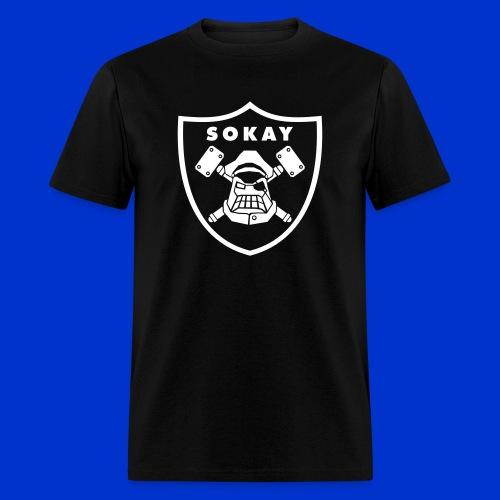 Sokay x Raider shirt (black) - Men's T-Shirt