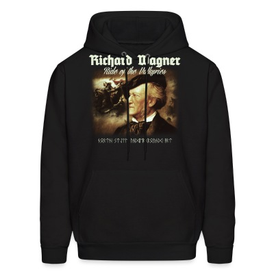 Richard Wagner. Ride of Valkyries - Men's Hoodie
