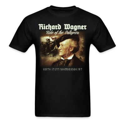 Richard Wagner. Ride of Valkyries - Men's T-Shirt