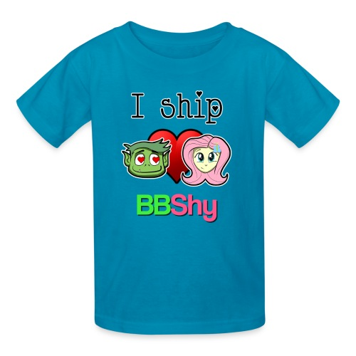 Blue BBShy T-Shirt (BOYS) - Kids' T-Shirt