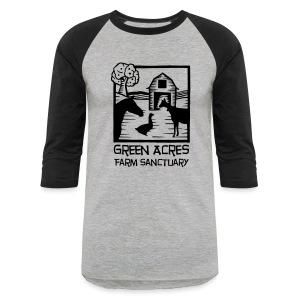 Adult Baseball Tee - Black Logo - Baseball T-Shirt