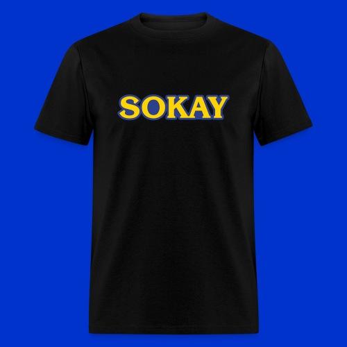 Sokay x Capcom (black) - Men's T-Shirt