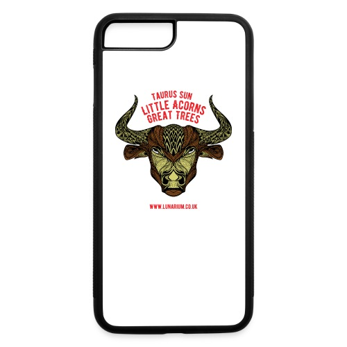 Taurus Sun iPhone 7 Plus Rubber Case  - iPhone 7 Plus/8 Plus Rubber Case