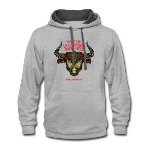 Taurus Sun Contrast Hoodie - Contrast Hoodie