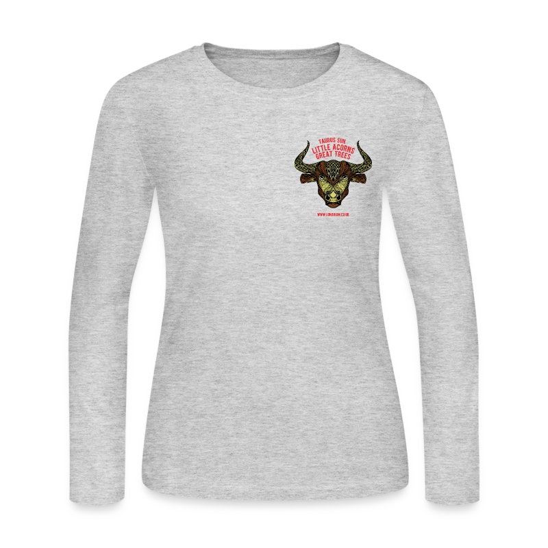 Taurus Sun Women's Long Sleeve Jersey T-Shirt - Women's Long Sleeve Jersey T-Shirt