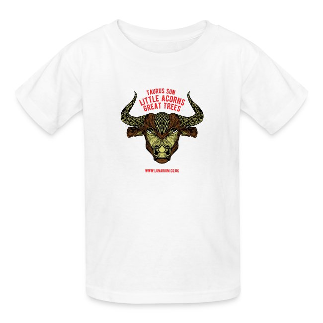 Taurus Sun Kids' T-Shirt