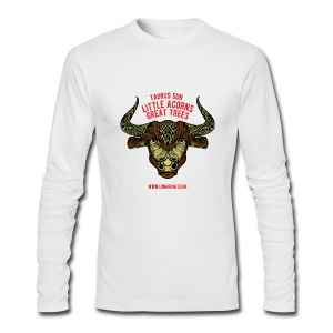 Taurus Sun Men's Long Sleeve T-Shirt by Next Level - Men's Long Sleeve T-Shirt by Next Level