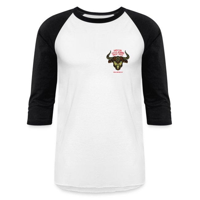Taurus Sun Baseball T-Shirt