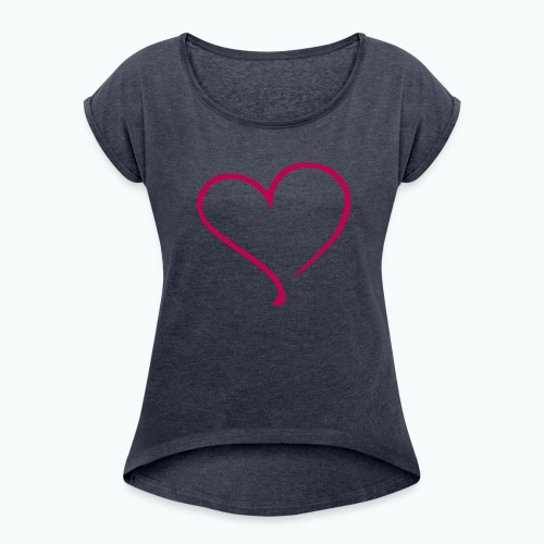 Love Seasons - Women's Roll Cuff T-Shirt