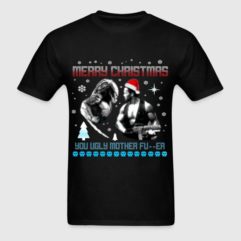 Ugly Christmas Mother Fuc... - Men's T-Shirt