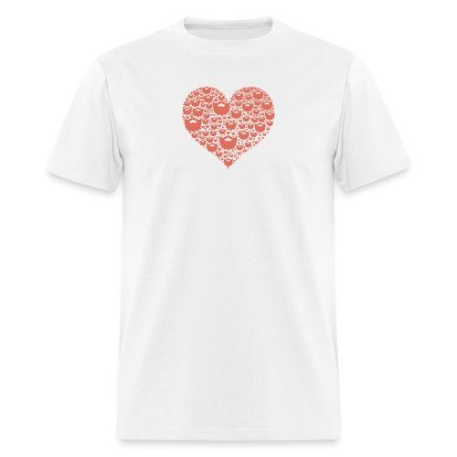A Beardos Heart - Men's T-Shirt
