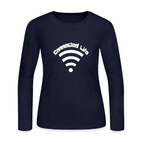 Connected Life - Women's Long Sleeve Jersey T-Shirt