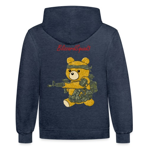 Baby Bear BlizzardSquad3 - Contrast Hoodie