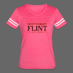 Don't Forget Flint - Women's Vintage Sport T-Shirt