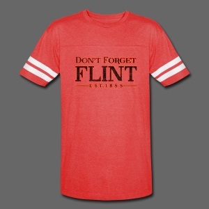 Don't Forget Flint - Vintage Sport T-Shirt