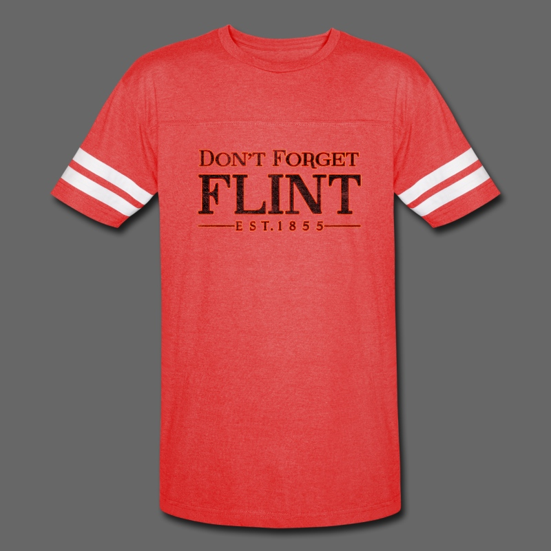 Don't Forget Flint - Vintage Sport T-Shirt