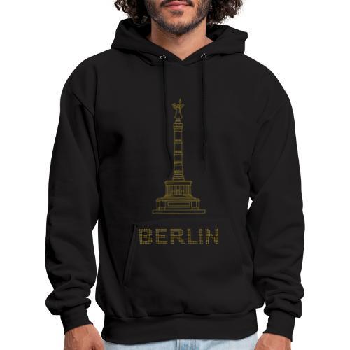 Berlin Victory Column (gold) - Men's Hoodie