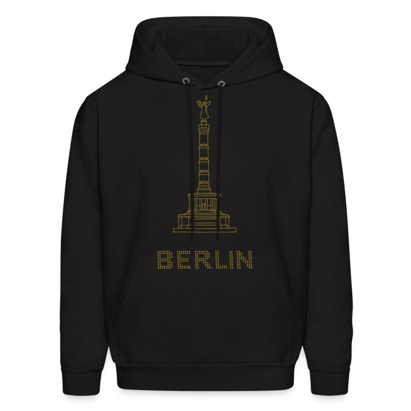 Berlin Victory Column (gold) - Men's Hoodie