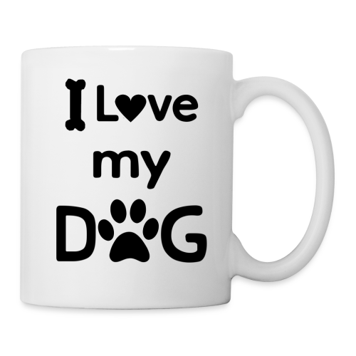 I Love my Dog - Coffee Mug - Coffee/Tea Mug