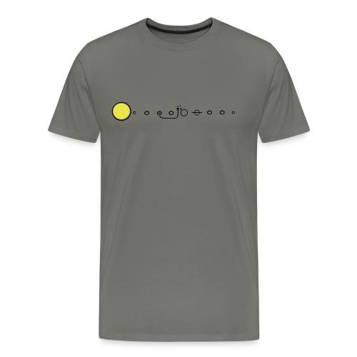 Space Diagram Gray Tee - Men's Premium T-Shirt