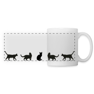 Cats (feeds 8 shelter cats) - Panoramic Mug