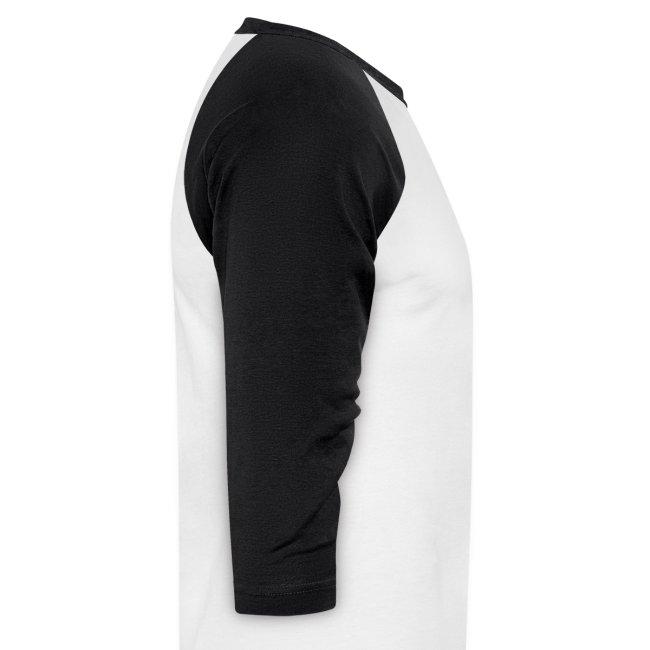 Women's Baseball Shirt - Black/White