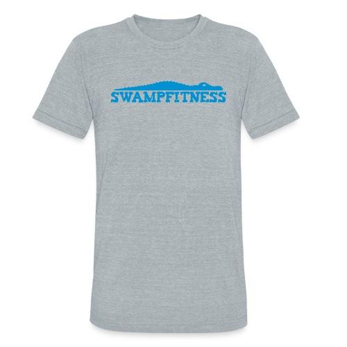 Swamp Fitness Unisex Blue Logo Tee - Unisex Tri-Blend T-Shirt