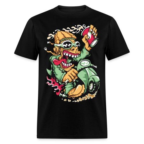 Crazy Biker Men's T-Shirt - Men's T-Shirt