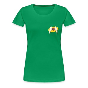 Women's Front and Back Seinfeld Inspired Flying Nipple - Women's Premium T-Shirt