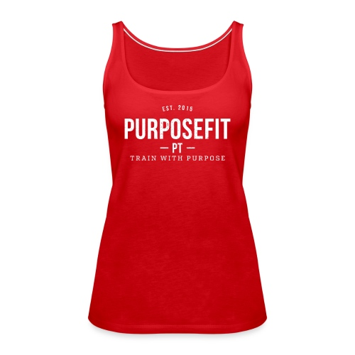 Women's Singlet - Red - Women's Premium Tank Top