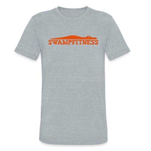Swamp Fitness Unisex Orange Logo Tee - Unisex Tri-Blend T-Shirt