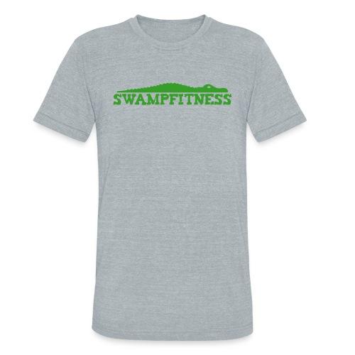 Swamp Fitness Unisex Green Logo Tee - Unisex Tri-Blend T-Shirt