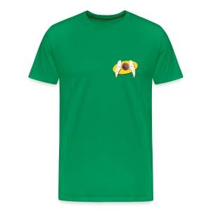 Men's Front and Back Seinfeld Inspired Flying Nipple - Men's Premium T-Shirt