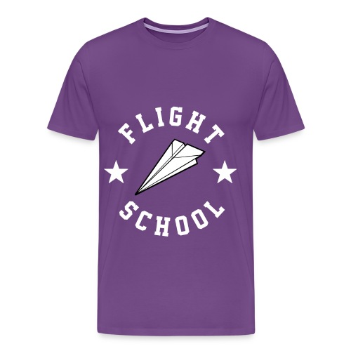 Flight School - Men's Premium T-Shirt