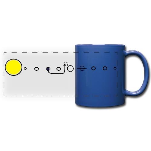 Space Diagram Mug - Full Color Panoramic Mug