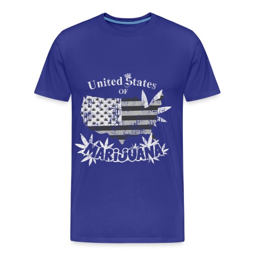 US Marijuana - Men's Premium T-Shirt