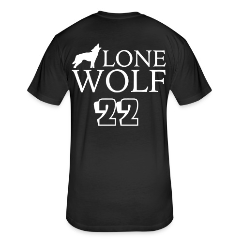 March Hare aka Lone Wolf! Special Edition Shirt - Fitted Cotton/Poly T-Shirt by Next Level
