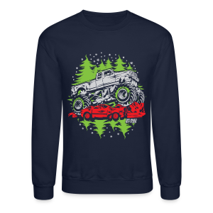 Monster Ugly Christmas - Crewneck Sweatshirt