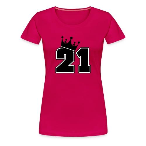21 Birthday Women T-shirt - Women's Premium T-Shirt