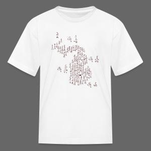 Michigan Word Map - Kids' T-Shirt